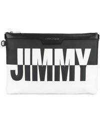 Jimmy Choo - Derek Clutch Bag - Lyst