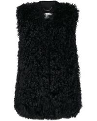 Manzoni 24 - Concealed Fastening Gilet - Lyst