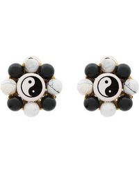 Venessa Arizaga - Flower Ying Yang Earrings - Lyst