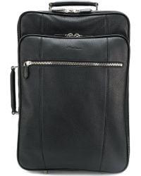 Santoni - Pebbled Suitcase - Lyst
