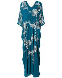 Josie Natori - Cocoon Caftan Dress - Lyst