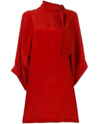 Maison Margiela - Tie-neck dress - Lyst