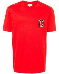 Calvin Klein - C Badge T-shirt - Lyst