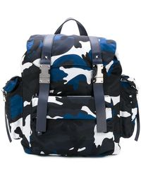 Valentino | Garavani Rockstud Camouflage Backpack | Lyst