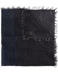 Faliero Sarti - Wide Distressed Finish Scarf - Lyst