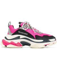 Balenciaga - Pink Triple S Trainers - Lyst