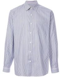 Gieves & Hawkes - Striped Shirt - Lyst