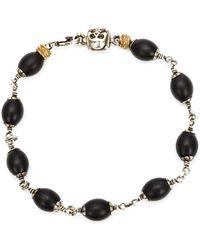 Roman Paul - Skull Wrapped Bracelet - Lyst