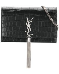 Saint Laurent - Kate Tassel Satchel - Lyst