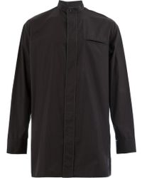 Haider Ackermann - Mandarin Collar Shirt - Lyst