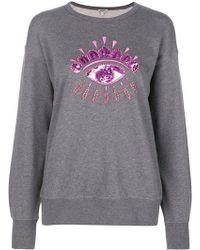 KENZO - Embellished Eye Sweatshirt - Lyst