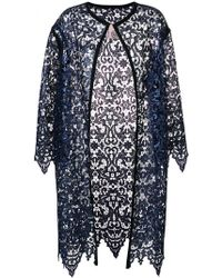 Antonio Marras - Lace Embroidered Cardi-coat - Lyst