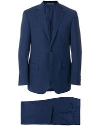 Canali - Woven Two Piece Suit - Lyst