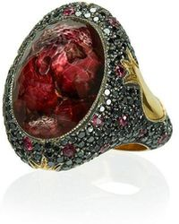 Sevan Biçakci - Ruby Cocktail Ring - Lyst