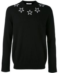 Givenchy | Embroidered Wool Pullover | Lyst