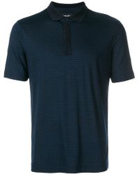 Giorgio Armani - Shortsleeved polo shirt - Lyst