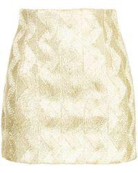 Manning Cartell - Zigzag Mini Skirt - Lyst