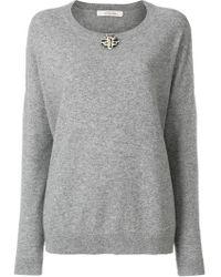 Dorothee Schumacher - Embellished Sweatshirt - Lyst