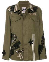 History Repeats - Embroidered Detail Jacket - Lyst