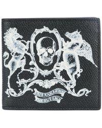 Alexander McQueen - Skull Coat Of Arms Wallet - Lyst