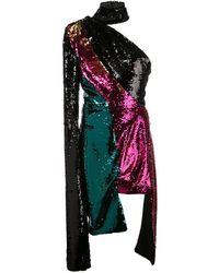 16Arlington Sequinned Evening Dress - Green