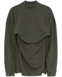 Y. Project - Fixed Double Cotton Sweatshirt - Lyst