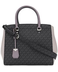 764de36f5a5c Michael Michael Kors Large  campbell  Tote in Black - Lyst