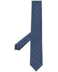 Ferragamo - Polka Dot Print Tie - Lyst