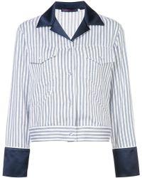 Harvey Faircloth - Engineer Stripe Jacket - Lyst