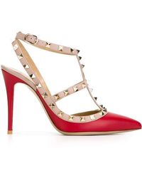 Valentino - 'rockstud' Court Shoes - Lyst
