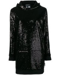 Philipp Plein - Hooded Jumper Dress - Lyst
