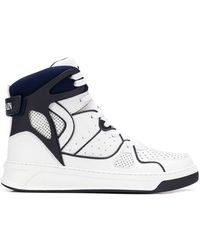 Balmain - Leather Keith High-top Trainers - Lyst