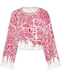 Aviu - Sequin Embroidered Jumper - Lyst