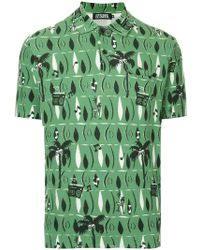 Hysteric Glamour - Print Short-sleeve Polo Top - Lyst
