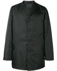 Prada - Nylon Garbadine Coat - Lyst