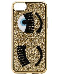 Chiara Ferragni - Iphone S6/7/8 Glitter Flirting Trainers - Lyst
