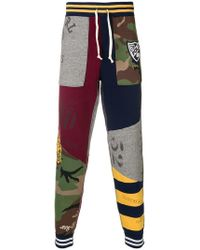 Polo Ralph Lauren - Patchwork Track Trousers - Lyst