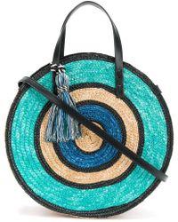 Rebecca Minkoff | Handbag Straw Circle Tote | Lyst