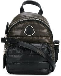 Moncler Small Panelled Backpack - Lyst 31a128f57ef51