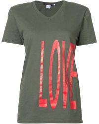 Harvey Faircloth - Love Print T-shirt - Lyst