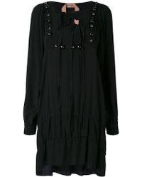 N°21 - Embellished Long Sleeve Dress - Lyst