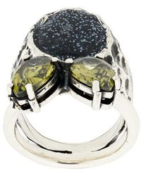 Voodoo Jewels - Sigillum Ring - Lyst