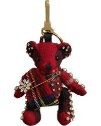 Burberry - Thomas Bear Charm With Kilt Pin - Lyst