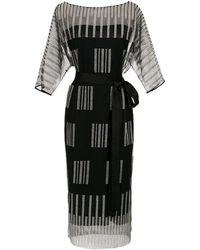 Gloria Coelho - Short Lace Dress - Lyst