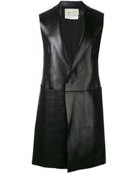 Alix Sleeveless Midi Coat