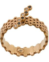 Savoir Joaillerie - 18kt Rose Gold And Diamond She Ring - Lyst