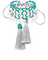 Night Market - Beaded Crochet Choker - Lyst