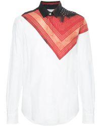 Yoshiokubo - Shibori Bandana Shirt - Lyst