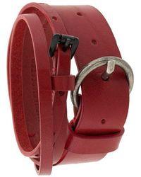 Ann Demeulemeester - Wrap-around Belt Bracelet - Lyst
