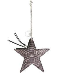 DIESEL - Star Keyring - Lyst